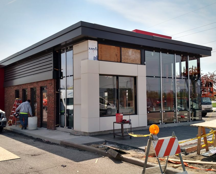 Nissan Gainesville Fl >> Wendy's Renovation - Merrillville, IN - CCS Image Group
